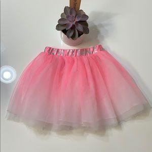 H & M Girls Pink Tutu Love To Dance 6-8 S